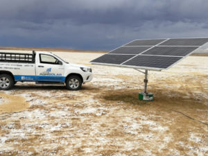 Agri Solar | Commercial Energy | Solar Panel to supply water to the salt pans